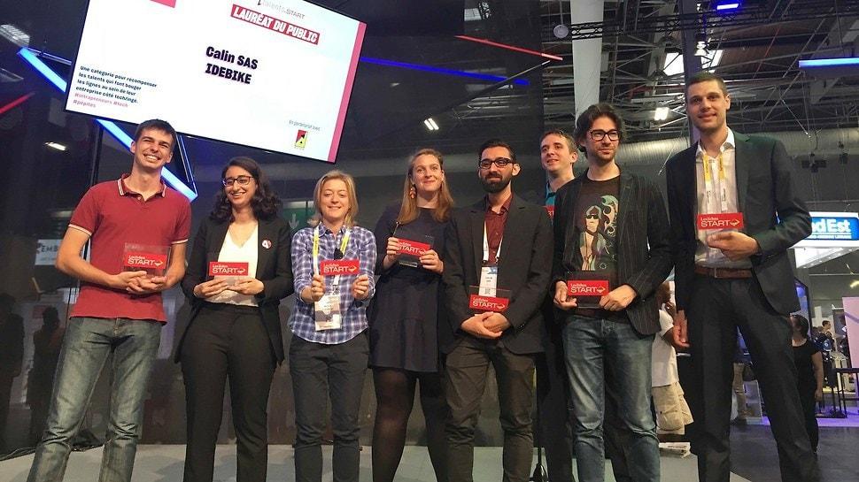 Un diplômé obtient le 1er prix à Viva Tech