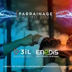 3iL Ingénieurs et Enedis, un partenariat école /entreprise de 3 ans.