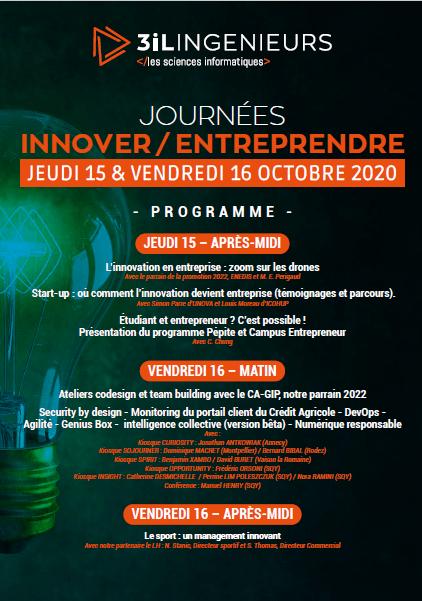 Journées Innover/Entreprendre 2020 6