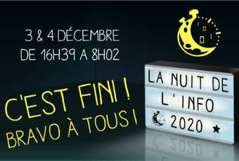La Nuit de L'Info 2020 à 3iL : Transcender la distance ! 1