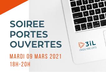 Soirée Portes Ouvertes virtuelles 9 mars 2021