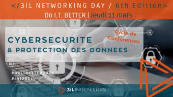 3iL Networking Day : Do I.T. Better, la cybersécurité