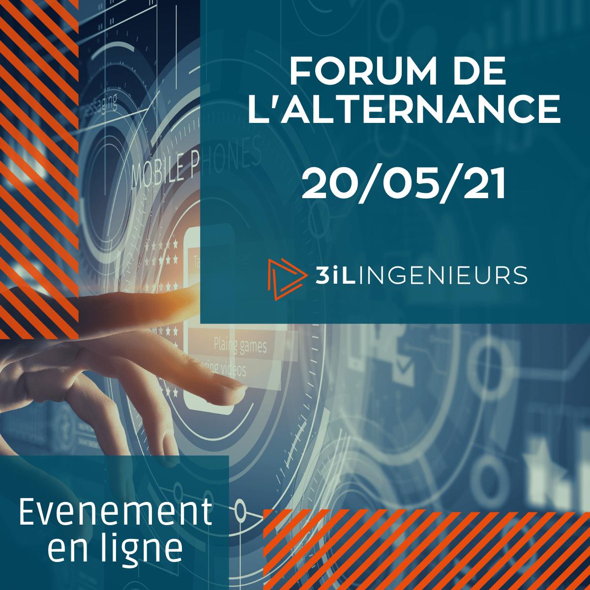 Forum de l'Alternance de 3iL Ingénieurs