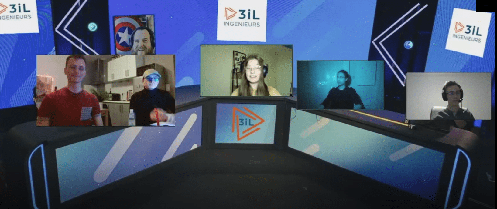 Projet étudiant : 3iL Channel ou comment garder le lien