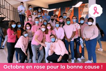 Octobre en rose pour la bonne cause ! 1