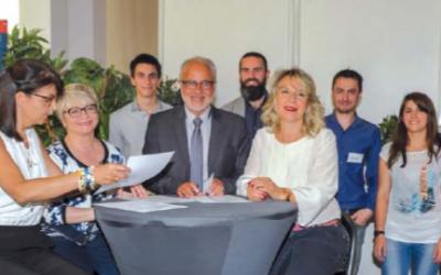 La start up epatient, la clinique Les cèdres et le Groupe 3iL ont signé une convention de partenariat