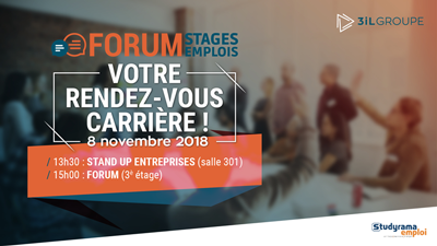 Forum Stages Emplois 2018