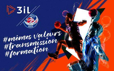 3iL et le LH87 s'associent pour  l'avenir professionnel des handballeurs !